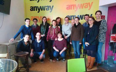 Workshop zu Moderationskompetenz für die MitarbeiterInnen vom SchLAu-Team