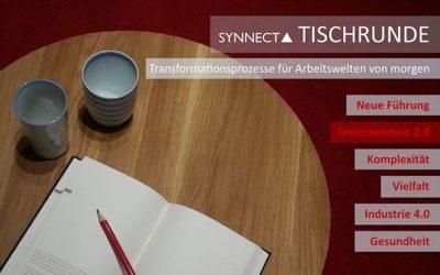 Vielfältig vernetzt im Unternehmen der Zukunft: SYNNECTA und HR-Vertreter gehen in die zweite Tischrunde