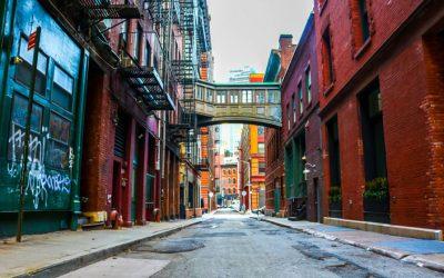 Stadt, Unternehmen, Menschen